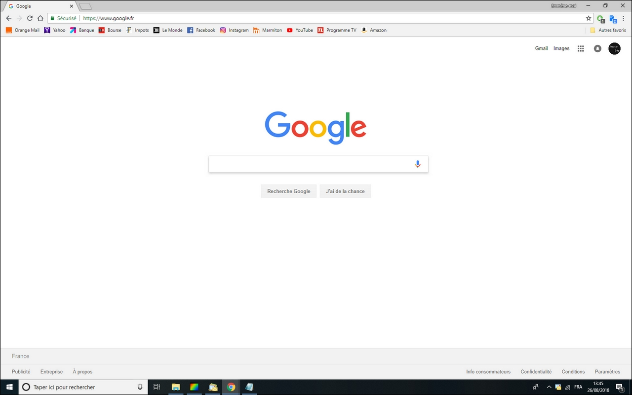 Google Chrome Definir La Page D Accueil De Mon Navigateur