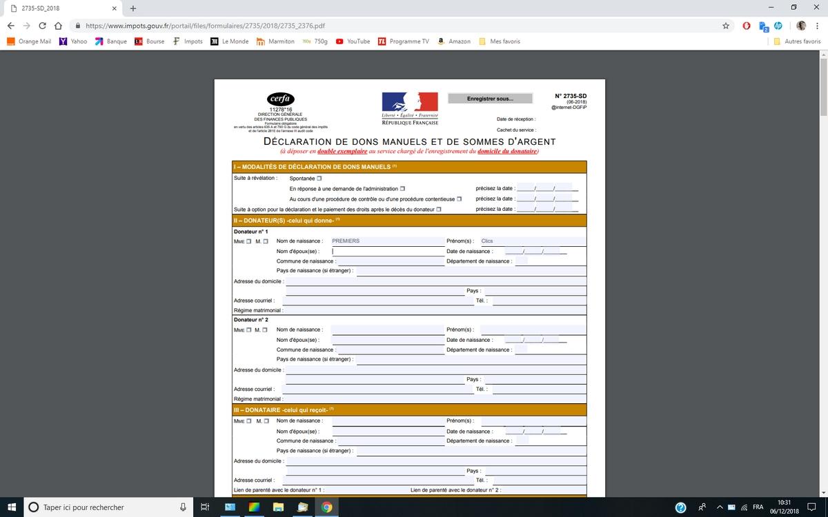 Problème de formulaire PDF à remplir qui reste vide : la solution