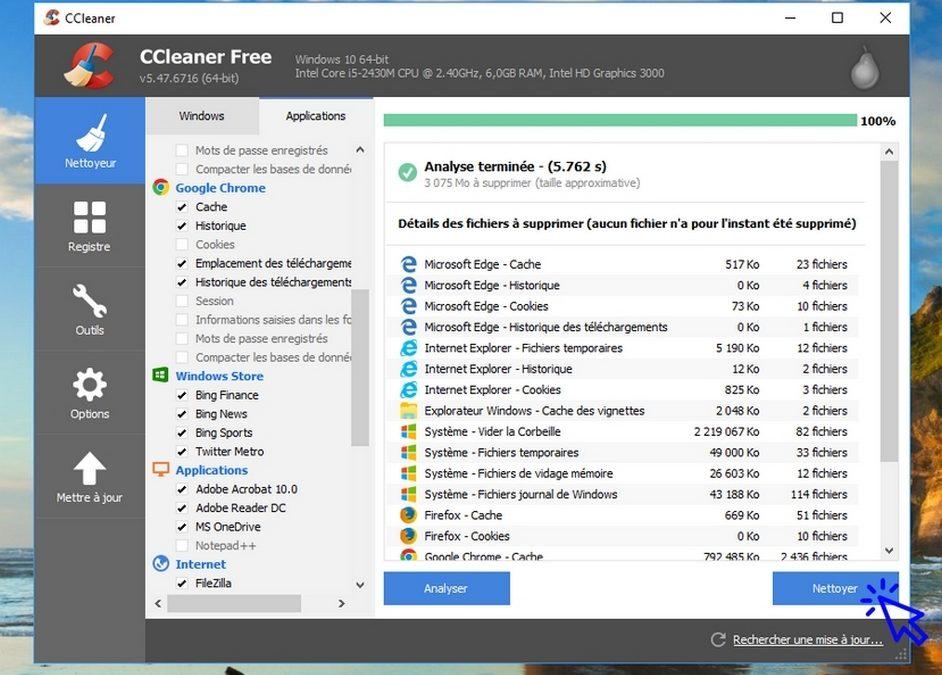 Ccleaner : l'outil qui veut du bien à votre ordinateur, votre tablette et votre smartphone