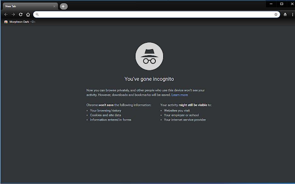 Google Chrome affichera bientôt un thème sombre sous Windows 10