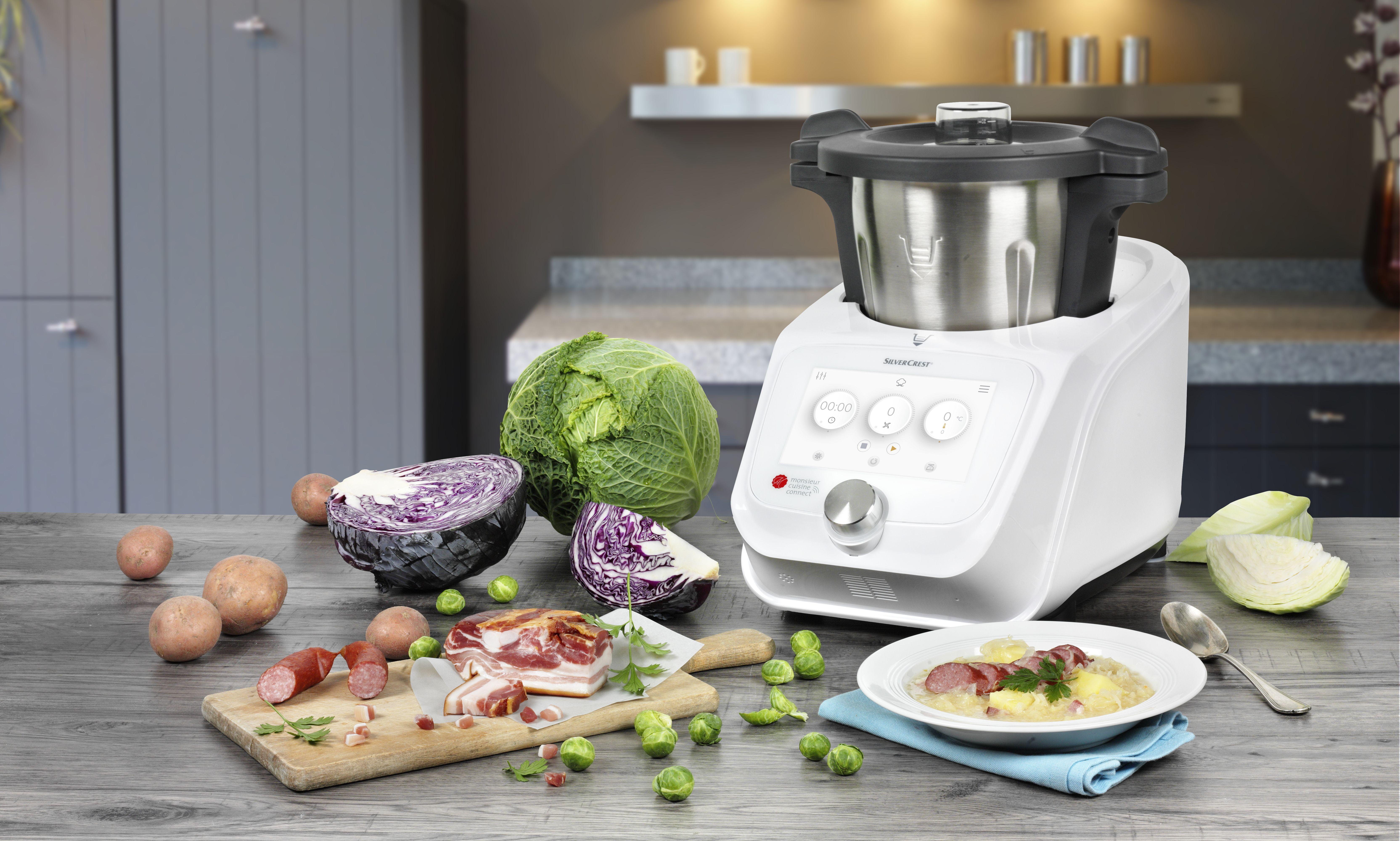Robots Cuiseurs Multifonctions La Cuisine De Plus En Plus Connectee