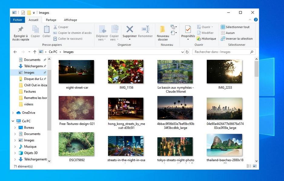 Remettre les bordures de fenêtres sous Windows 10