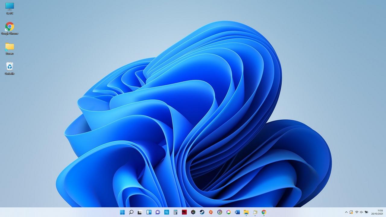 Le bureau de Windows 11